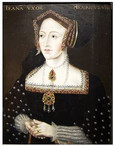 Unknown Date: Queen Jane Seymour (by an Unknown Artist), Chapter of Ripon Cathedral Anne Of Cleves, Anne Boleyn, History Of England, Tudor History, Wives Of Henry Viii, Order Of The Garter, Tudor Dynasty, Tudor Era, Wars Of The Roses