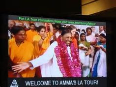 ... went to see amma the hugging saint in los angeles who is amma she is