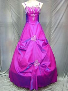 Ripple Formal Evening Dress Prom Gown