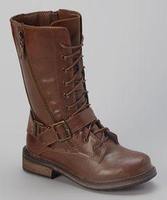 Tan R&B Boot