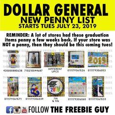 Dollar General Penny Item Master List 2020.11 Best Dollar General Images In 2019 Dollar General