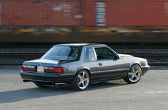 1990 Mustang SSP - This Special Service Package optioned Mustang is an ex-California Highway Patrol car.