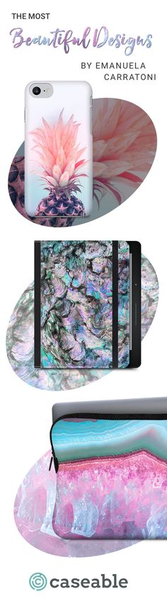 The Most Beautiful Designs by Emanuela Carratoni | iPhone 5S Hard Case | iPad Mini 4 Tablet Cover | MacBook Pro 13 Premium Sleeve | available for all phone cases, laptop sleeves, tablet and eReader covers