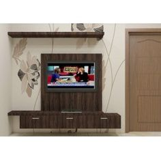 TV Unit with the laminate finish made up of plywood. Consisting an upper shelf and a lower cabinet with 3 drawers to fit in essentials in an organized manner. You can now decorate your living room with the quality entertainment unit. Its unique pattern adds great effect and makes the entire space look beautiful.
