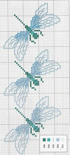 https://www.google.com/search?q=dragonfly counted cross stitch patterns