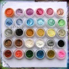 30 Color Mineral Eye Shadows