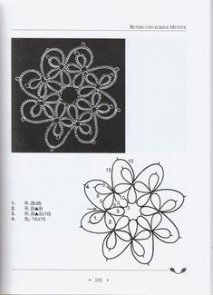 Album Archive Flower motif with lock join