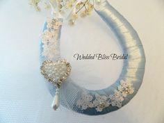 Something Blue Wedding Horseshoe
