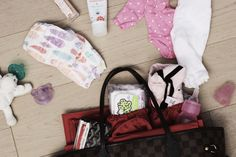 staying organized with ToteSavvy! making my LV a diaper bag!! this bag organizer is perfect
