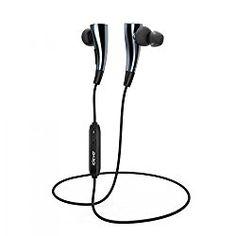 iClever 防汗Bluetooth 4.1磁気ワイヤレススポーツヘッドフォン ハンズフリー通話ヘッドセット マイク内蔵 apt-X経由ハイファイステレオ高音質 iPhone 6s 6 Plus 5S 5 Galaxy S6 Edge Note 5などのスマフォンに対応[グレー] おすすめ度*1 個人的にはかなりおすすめのワイヤレスイヤホンだ。ほとんど欠点を感じない万能さと圧倒的な音圧と迫力、メリハリのあるサウンドはもはやワイヤードイヤホンに遜色ない。aptX対応。 ノイズキャンセリング機能搭載というが、遮音性はそれほどなく、音漏れも比較的大きい気がする。 audio-sound.haten…