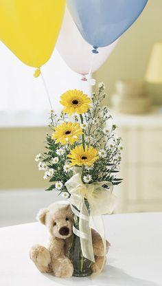 17 Mejores Im 225 Genes De Arreglos Con Peluches Floral