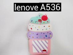 3D silicone beauty summer icecream case mobile phone skin case Cover For Lenovo A536 A358T  cover bag for Lenovo A 536 A 358T