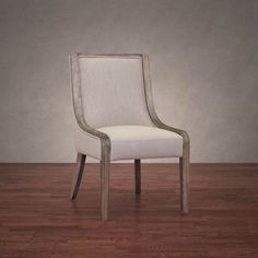Arietta Beige Linen Dining Chair - Overstock™ Shopping - Great Deals on 555 Dining Chairs