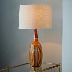 Westelm dbO Home Table Lamp - Mustard