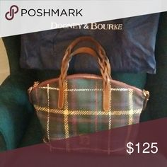 ***Flash Sale*** Dooney and Bourke Bag Dooney and Bourke Bag with handles. Carried twice. Great fall bag! Dooney & Bourke Bags