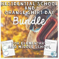 Indigenous Education, Residential Schools, Social Emotional Learning, Orange Shirt, Pre And Post, School Lessons, Social Studies, Middle School, Morning Meetings