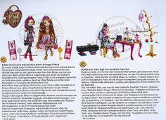 Fall 2014 Ever After High Holly and Poppy 2-Pack/Hat-Tastic Party Playset with Maddie Exclusive from fashiondollworld.de!