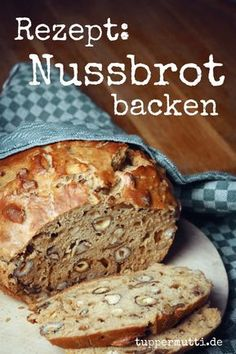 Baked Nut Bread- Unique and Incredibly Nussbrot Backen- Einzigartig Und Unglaublich Lecker! Easy Cheesecake Recipes, Easy Cookie Recipes, Pizza Recipes, Baking Recipes, Dessert Recipes, Baking Desserts, Bread Recipes, Homemade Cheesecake, Nut Bread Recipe
