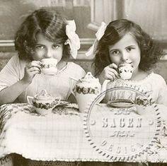 Tea party - Middagsservett