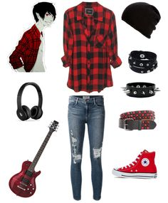 Marshall Lee punk boy outfit emo scene Source by nijinate clothes Cute Emo Outfits, Teenage Outfits, Punk Outfits, Tomboy Outfits, Tomboy Fashion, Cosplay Outfits, Teen Fashion Outfits, Girl Outfits, Emo Fashion