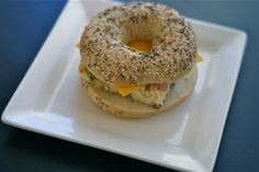 breakfast egg sandwiches for freezer
