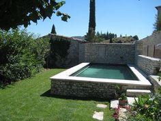 Garten Design Pool Discover 20 mini pool ideas that will inspire you! Mini Pool, Small Backyard Pools, Small Pools, Backyard Ponds, Above Ground Pool, In Ground Pools, Raised Pools, Concrete Pool, Dream Pools