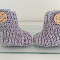 Winter Baby Boots by OasiDellaMaglia | Knitting Pattern