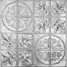 Pressed Metal - Ceiling & Wall Panels - Large Maple - 600 x 1800 mm