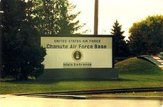 chanute air force base, rantoul, illinois  went to weather school here right out of basic training and back to forcaster school four years later.