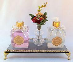 Kit Lavabo Rosa Antigo