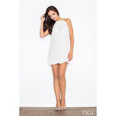 Feminine White Tunic