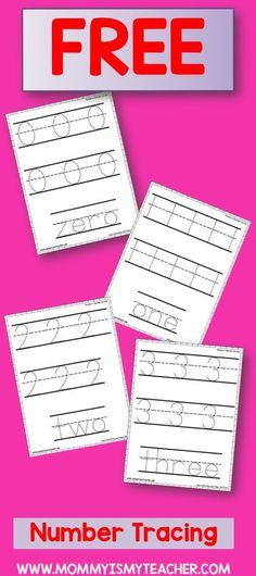 Tracing Numbers 1 20 Worksheets Number Tracing 1 To 20 My