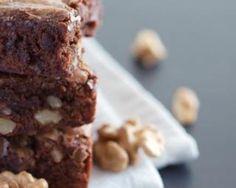 Brownies aux noix et chocolat sans matières grasses : Savoureuse et équilibrée | Fourchette & Bikini