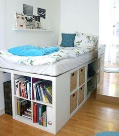 Home improvement! | A | Pinterest | Hanging rail, Ikea kallax and ...