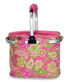 This Pink Desire Shelby Collapsible Cooler Tote is perfect! #zulilyfinds