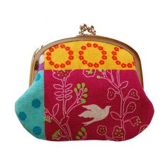 Love this! Coin purse by @jenniferladd on Etsy.