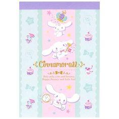 Sanrio Cinnamoroll Wonderland Mini Memo Pad (◕ᴥ◕) Kawaii Panda - Making Life Cuter Doraemon Cartoon, Kawaii Stationery, Printed Pages, Sanrio, Panda, Decoupage, Hello Kitty, Wonderland, Scrapbook