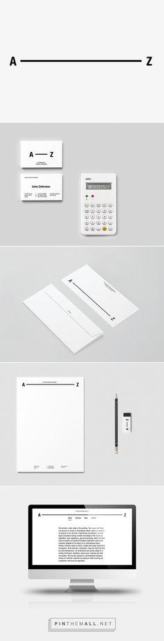 A—Z on Behance - created via https://pinthemall.net