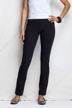 Women's Starfish Cotton Spandex Leggings from Lands' End