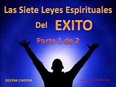 Libro LAS SIETE LEYES ESPIRITUALES DEL ÉXITO / Deepak Chopra / Desarrollo Personal / Anyelo Rico - YouTube