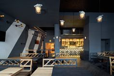 Rebel Wings restaurant / bar by studio minio, Prague – Czech Republic » Retail Design Blog