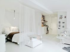 small studio apartment 6 ideas by Decoholic