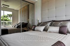 Quarto Casal empreendimento Ideale Residencial / Ideale Residencial Master bedroom