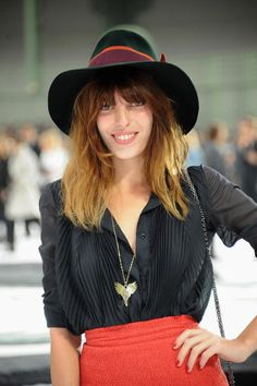 lou doillon @ chanel