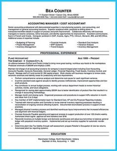 The sales manager resume should have a great explanation and ...