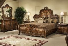 Palais Royale Queen Panel Bed