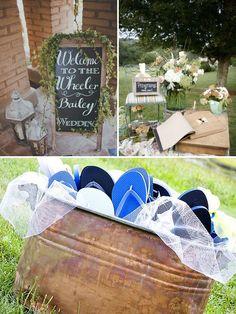Cute ideas for outdoor weddings