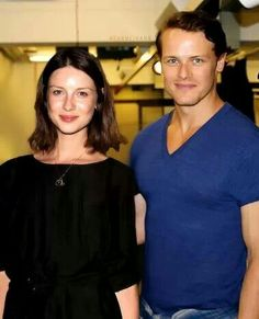 They are both very attractive, but I have always pictured a greater difference in  height. Jamie stands head and shoulders above others in a crowd ...