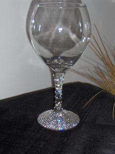 Image detail for -Toast with Bling - wedding eleganceOrder a Glass Custom Designed ...