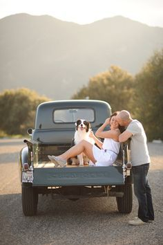 engagement photos with trucks - Google Search